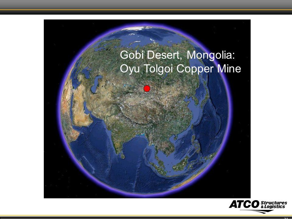 21 Gobi Desert, Mongolia: Oyu Tolgoi Copper Mine