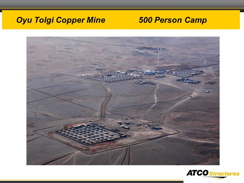 22 Oyu Tolgi Copper Mine 500 Person Camp