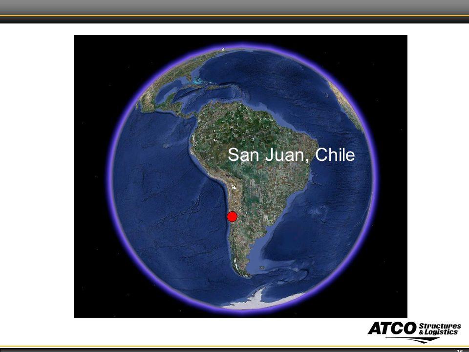 26 San Juan, Chile