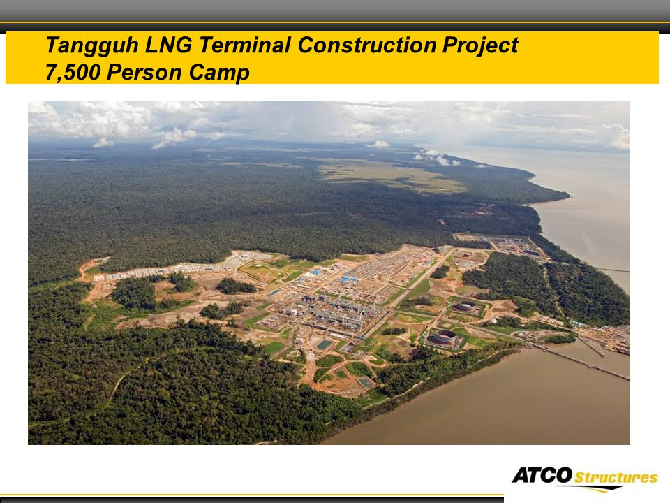 29 Tangguh LNG Terminal Construction Project 7,500 Person Camp