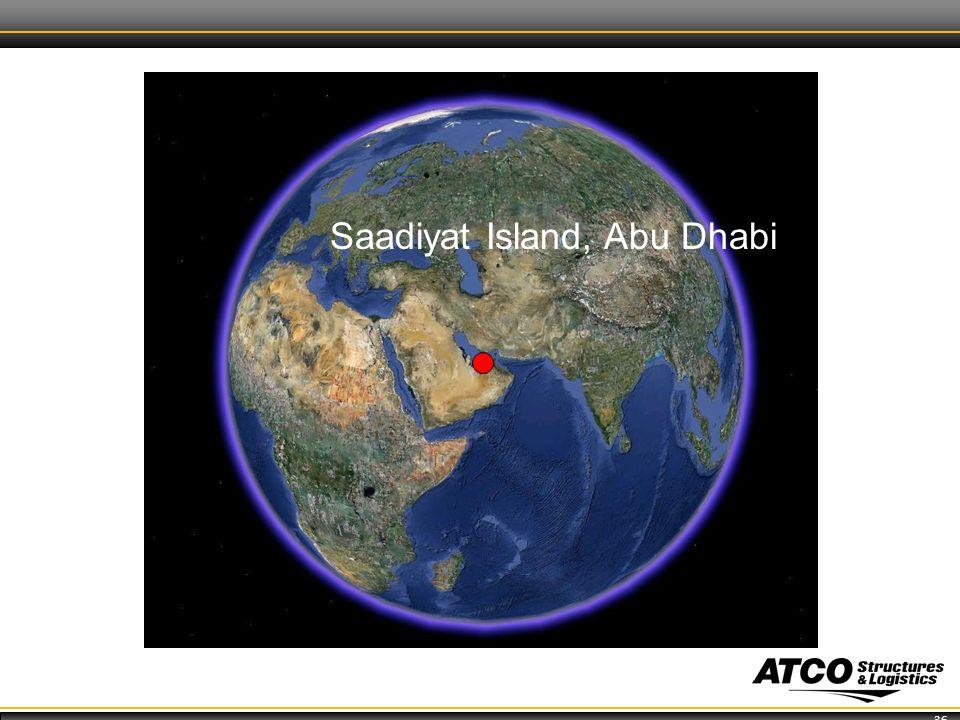 36 Saadiyat Island, Abu Dhabi