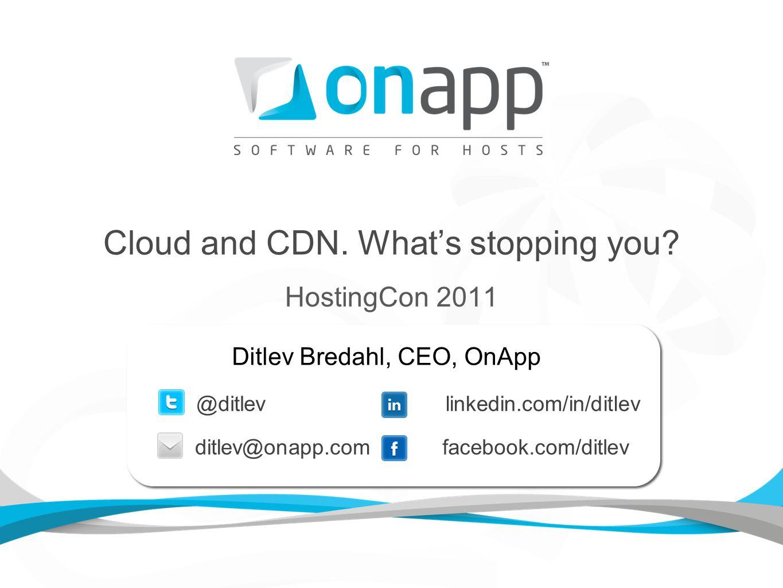What is OnApp CDN as a Service.