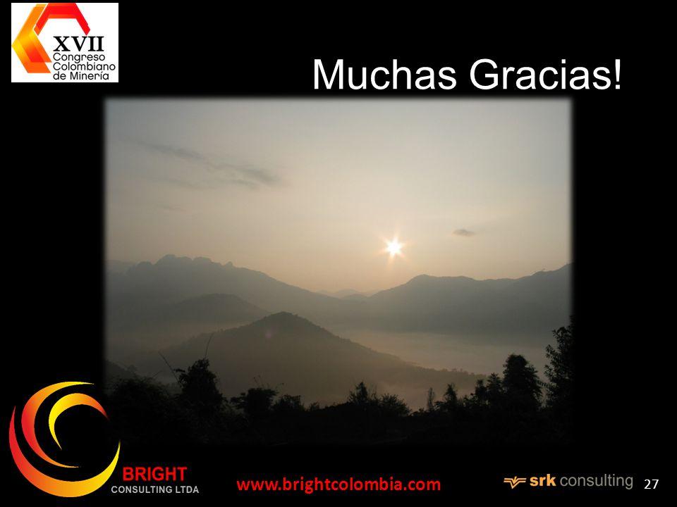 Muchas Gracias! www.brightcolombia.com 27