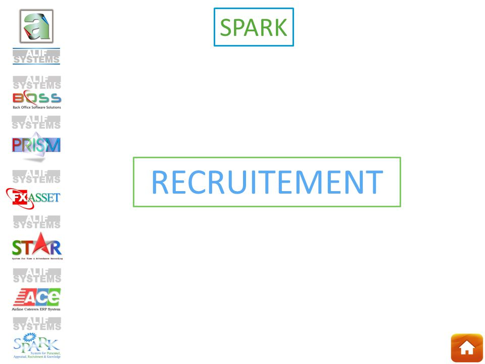 RECRUITEMENT SPARK