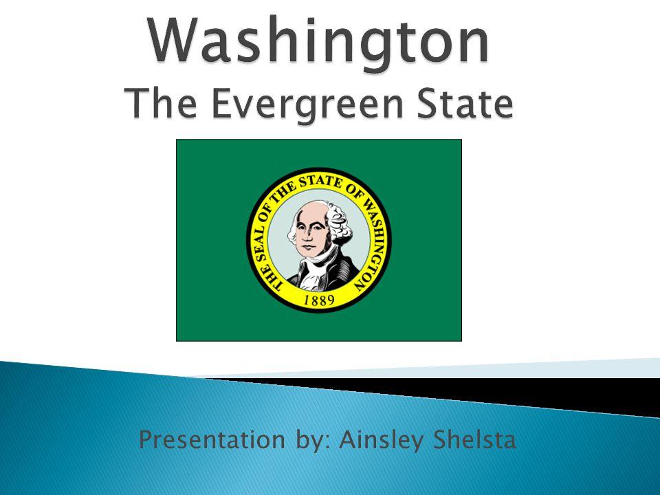 Presentation by: Ainsley Shelsta