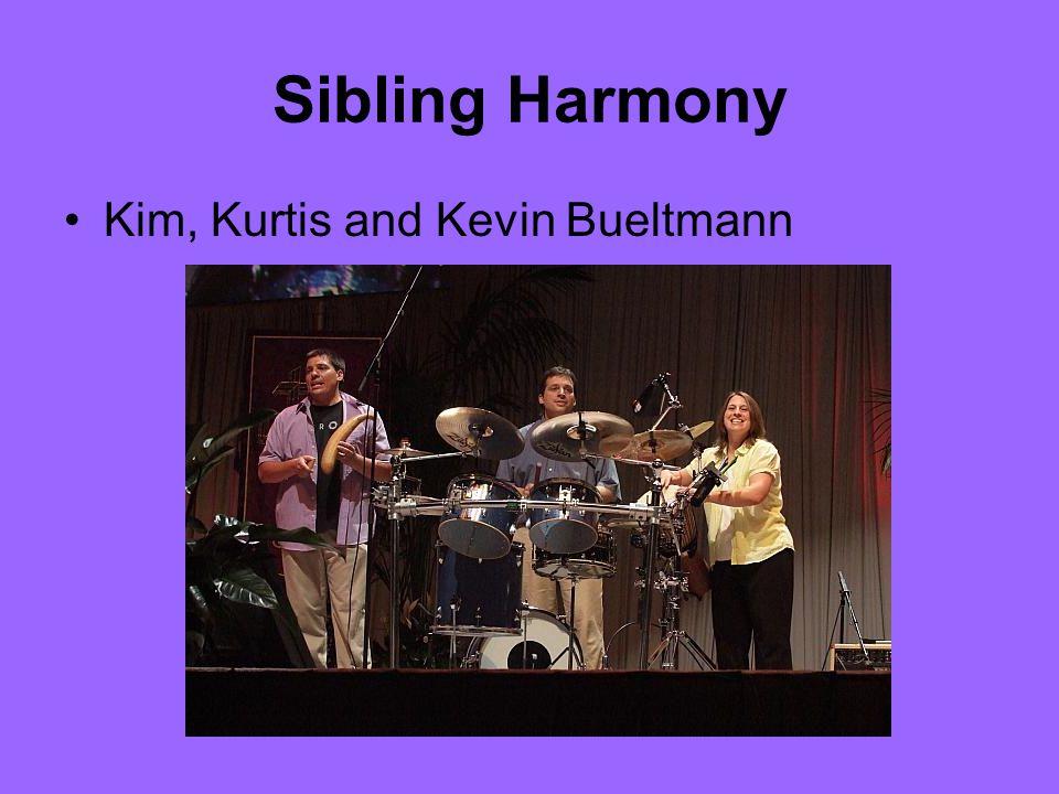 Sibling Harmony Kim, Kurtis and Kevin Bueltmann