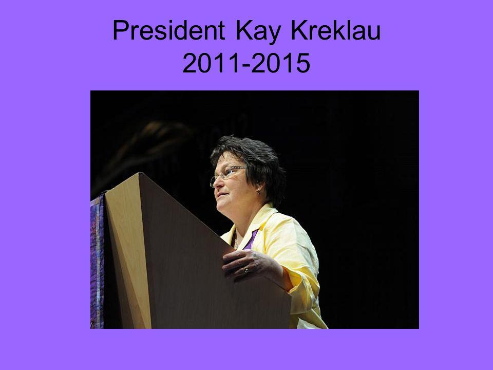 President Kay Kreklau 2011-2015
