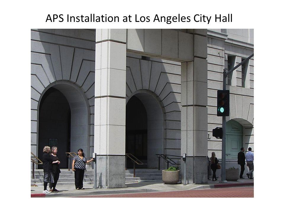APS Installation at Los Angeles City Hall