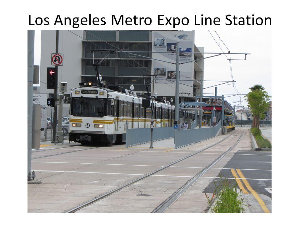 Los Angeles Metro Expo Line Station