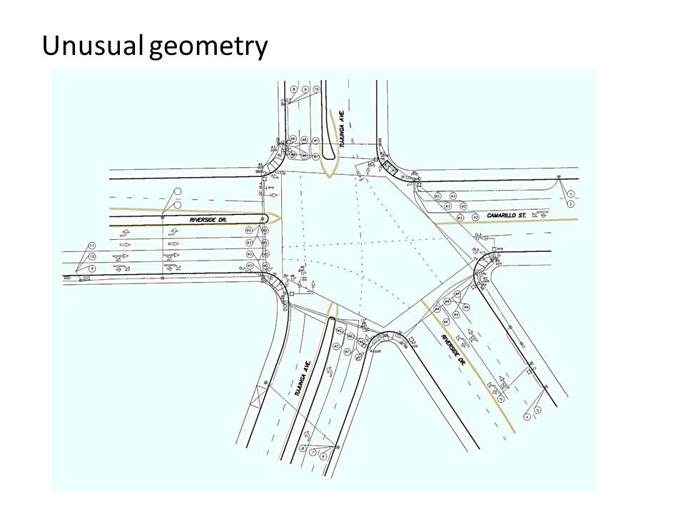 Unusual geometry