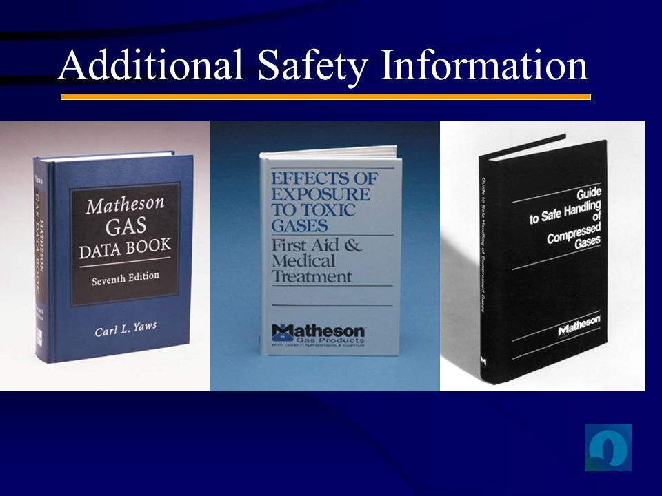 Additional Safety Information