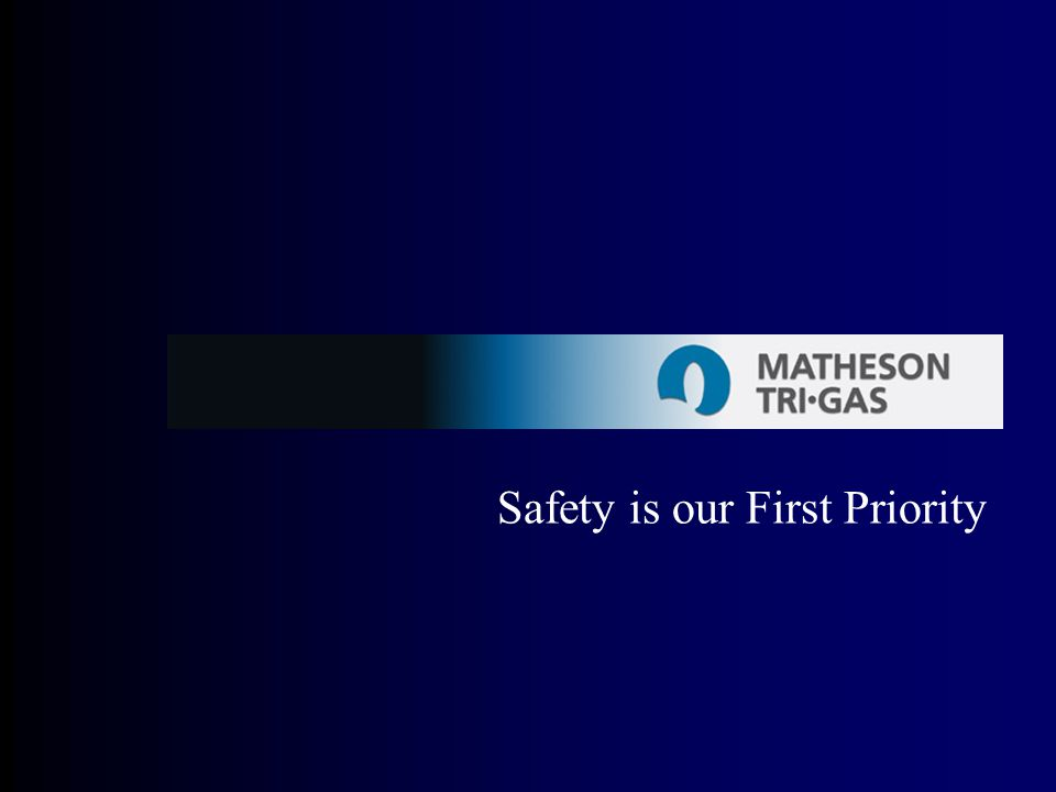 Safety is our First Priority