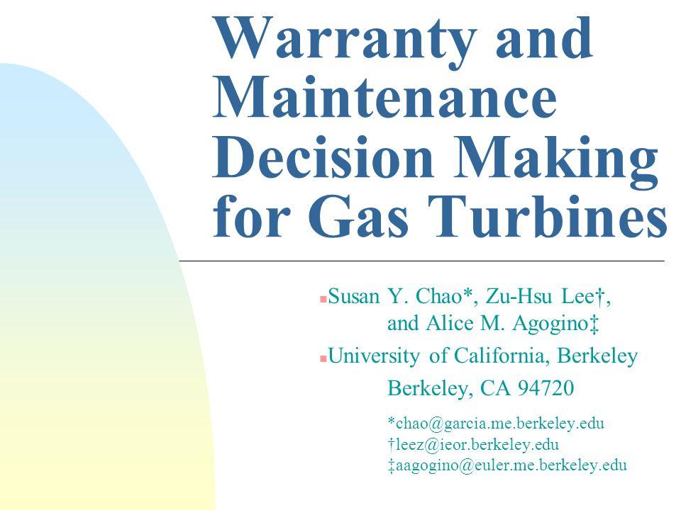 Turbine Performance Degradation Curves* *Source: GE