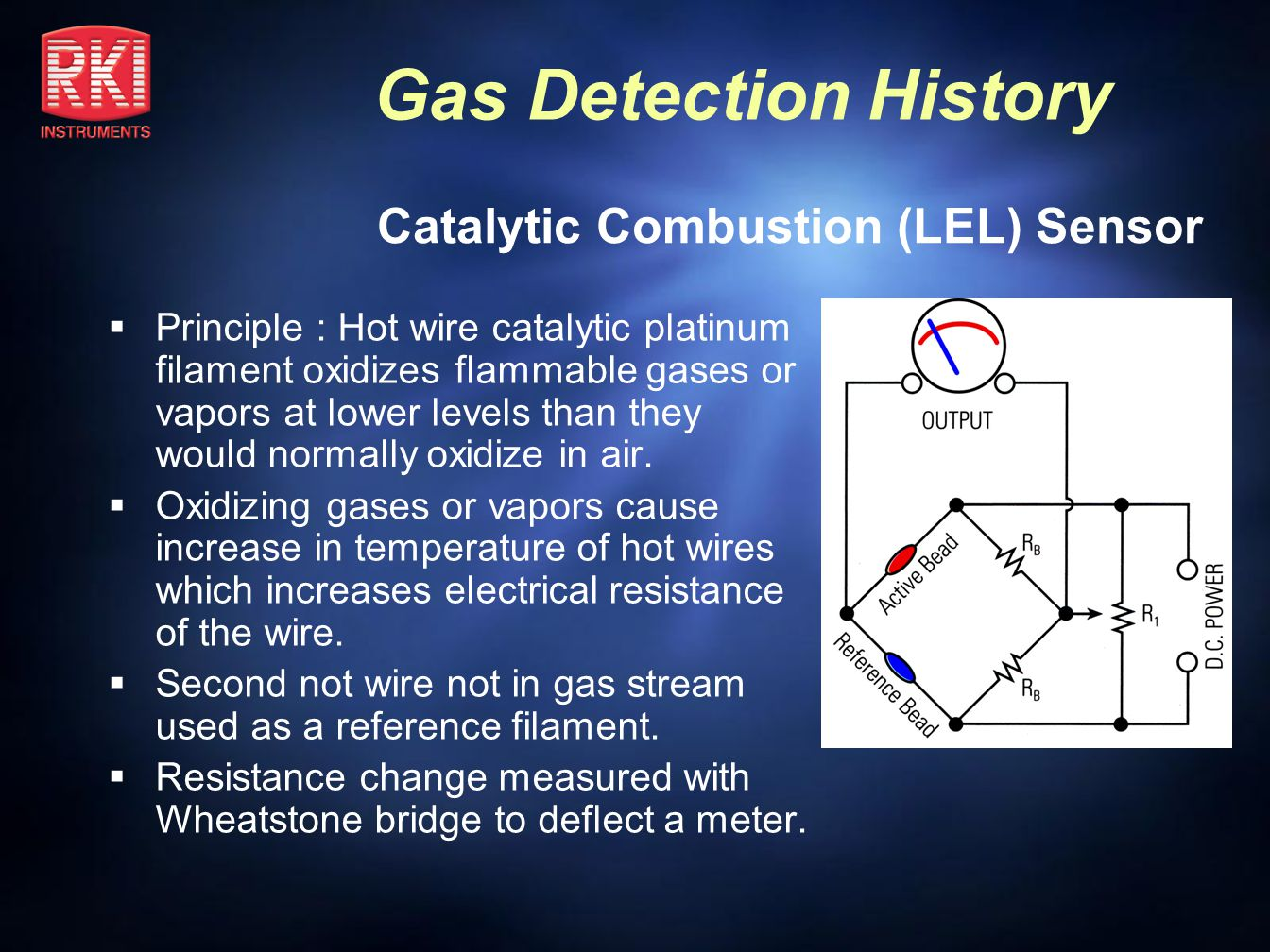 Gas Detection History J-W Model F 1938 – 1955 Approx.