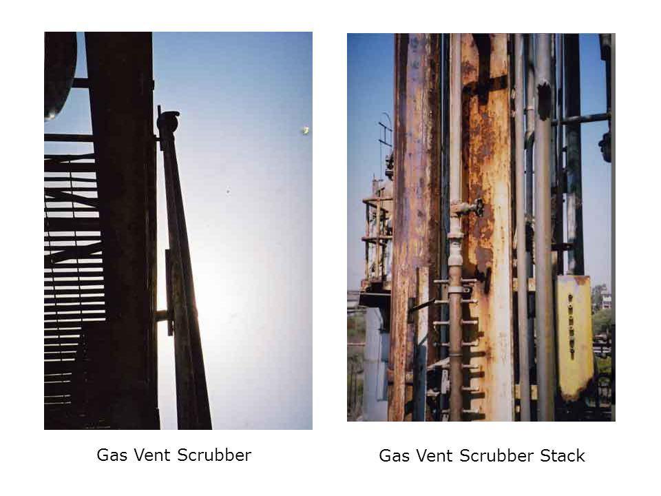 Gas Vent Scrubber Gas Vent Scrubber Stack
