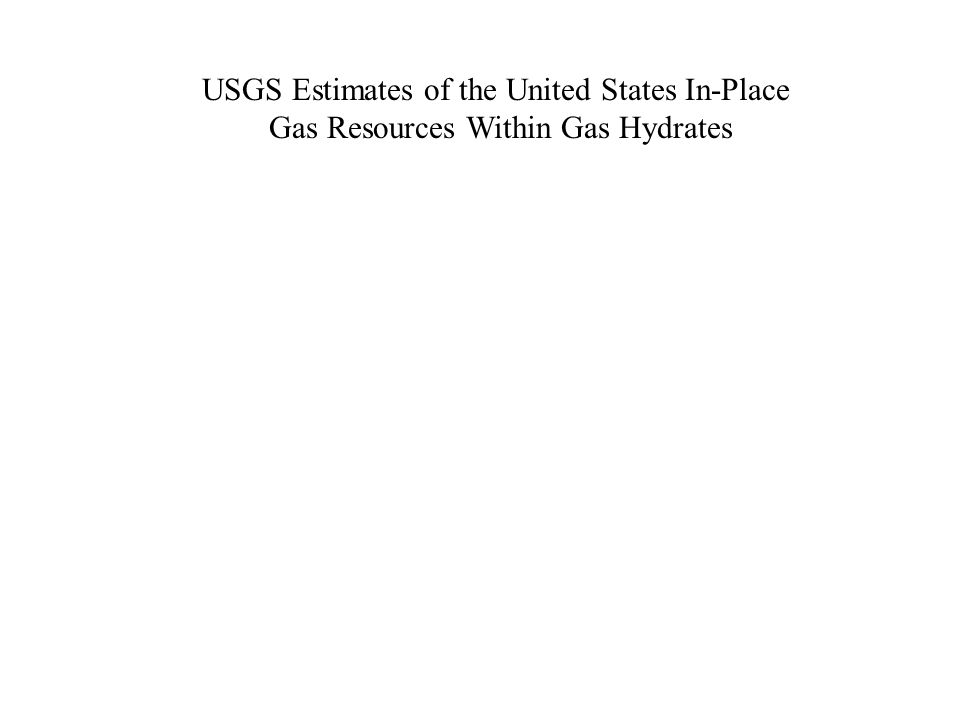 USGS Estimates of the United States In-Place Gas Resources Within Gas Hydrates
