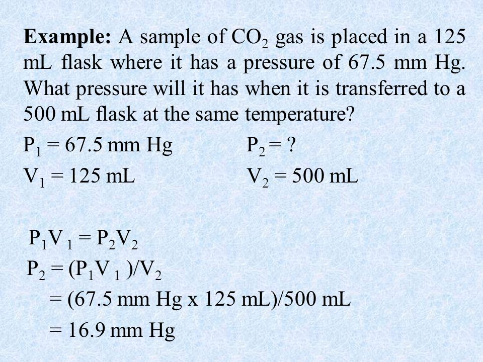 Charles Law: At constant pressure (P), the volume of a gas is directly proportional to temperature of the gas and extrapolates to zero at zero Kelvin.