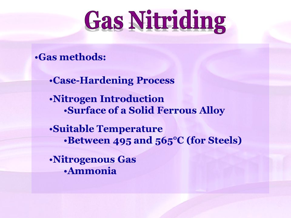 Liquid nitriding: Thermo-chemical Diffusion Treatment Hardening Components With Repeatability.