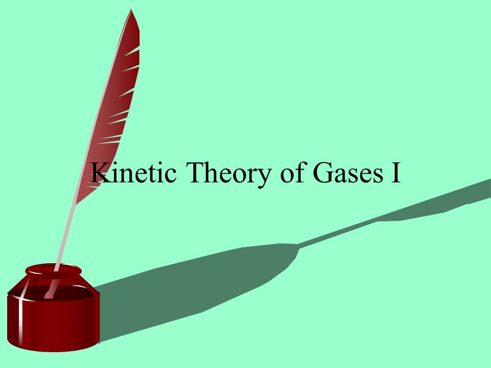 Internal Energy For monatomic gas: the internal energy = sum of the kinetic energy of all molecules: