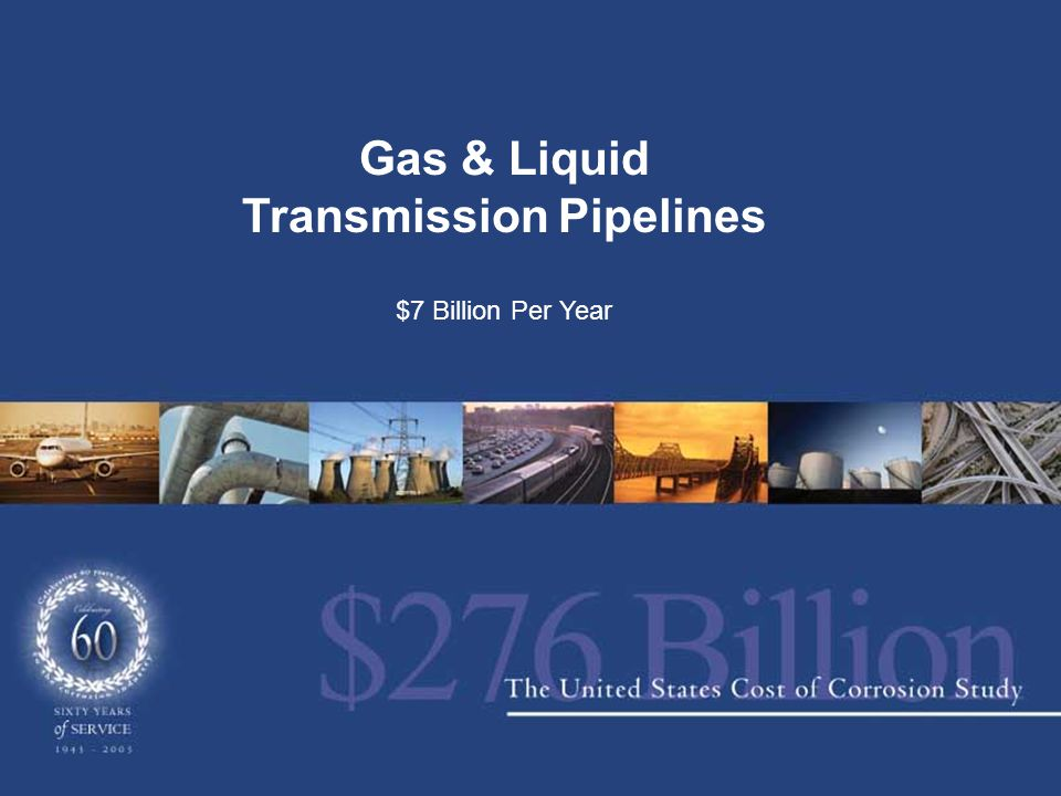 Gas & Liquid Transmission Pipelines $7 Billion Per Year