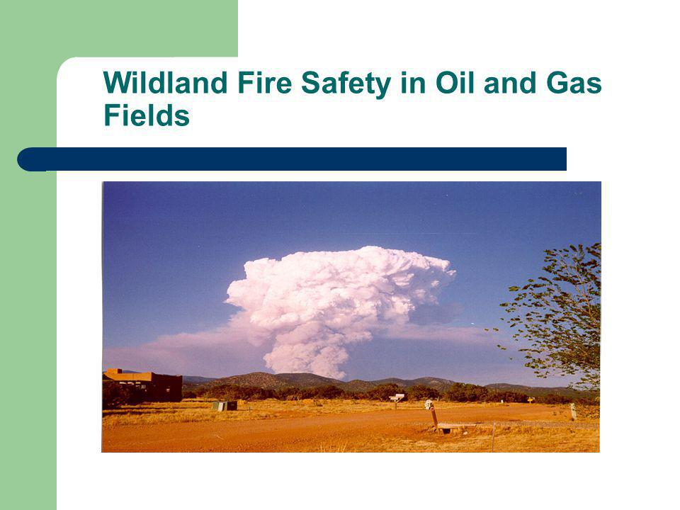 Identify oil and gas industry hazards for wildland firefighters Be aware of oil and gas facility hazards: Engines should avoid rights of way due to exposed pipes and/or pipelines.