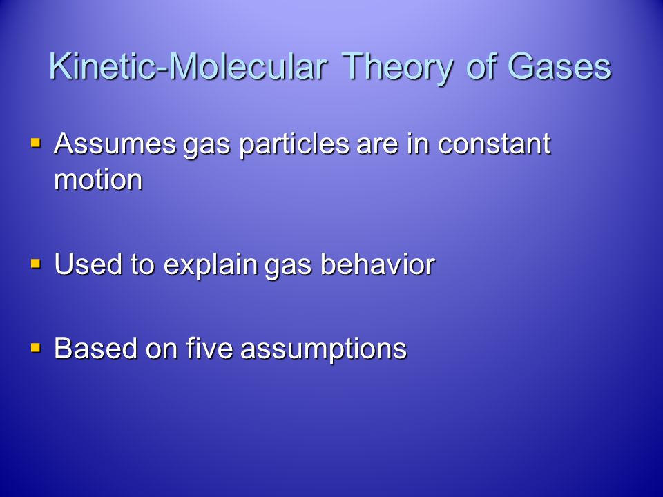 The Beginning The first gas studied was air. The first gas studied was air. The studies were very important to understanding gas behavior because: The