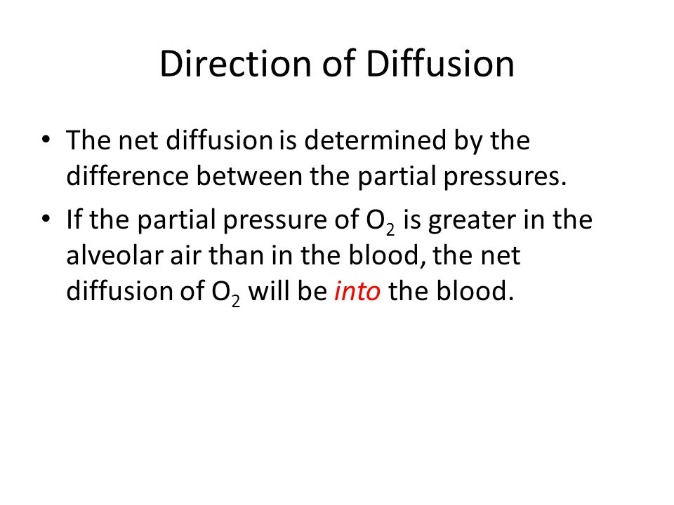 Diffusion Coefficient The diffusion coefficient is proportional to the solubility/MW.