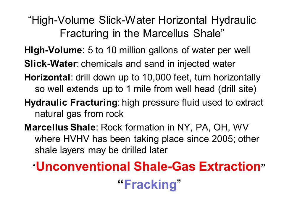 1:What is hydrofracking.