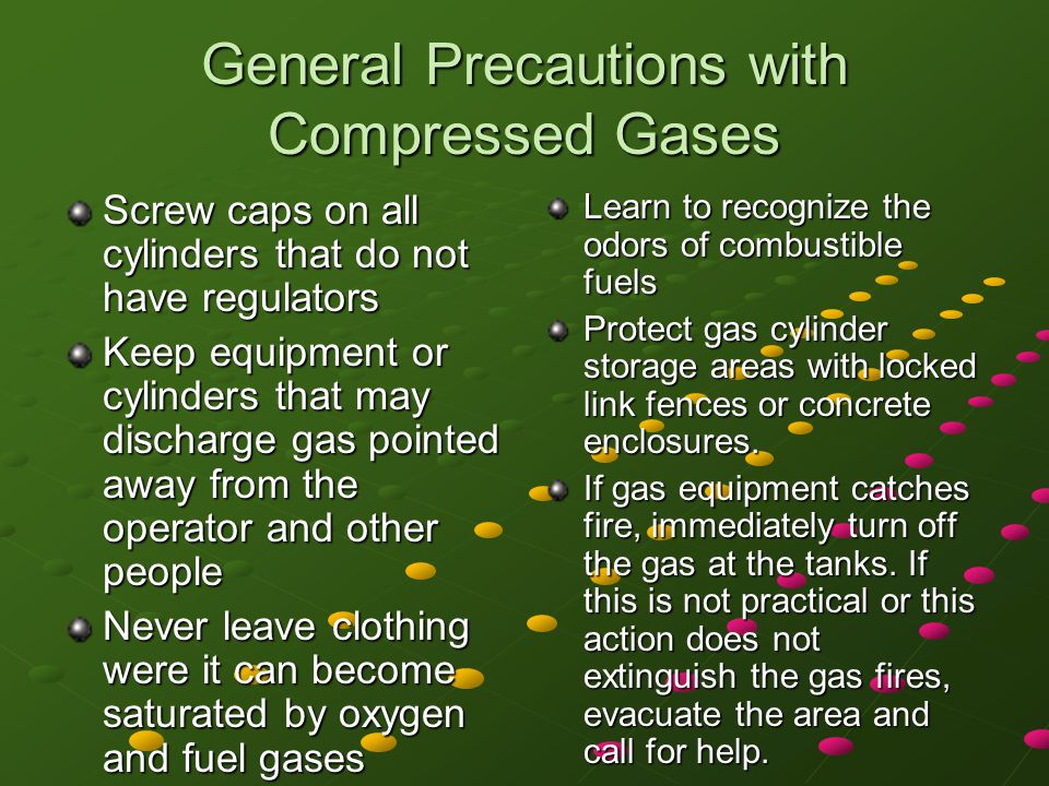 Turning On the Acetylene and Oxygen Use the following sequence to turn on the gases.