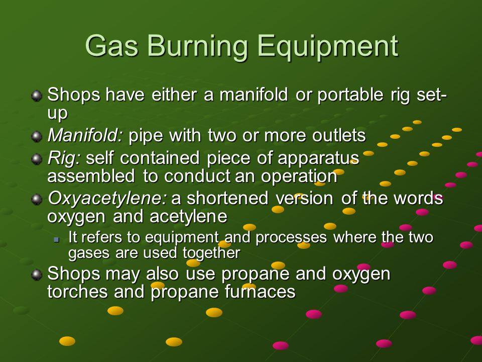 Turning on Oxygen and Acetylene Step 5: Open the oxygen cylinder valve slowly until the pressure gauge responds.