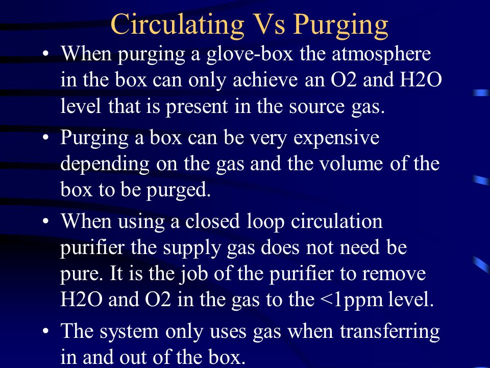 Selecting a purifier Consider .