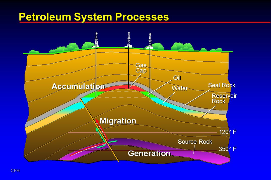 CPH Petroleum System Processes Accumulation Source Rock