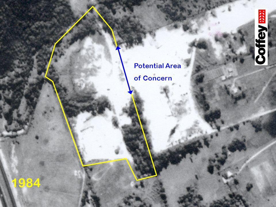 1984 Potential Area of Concern