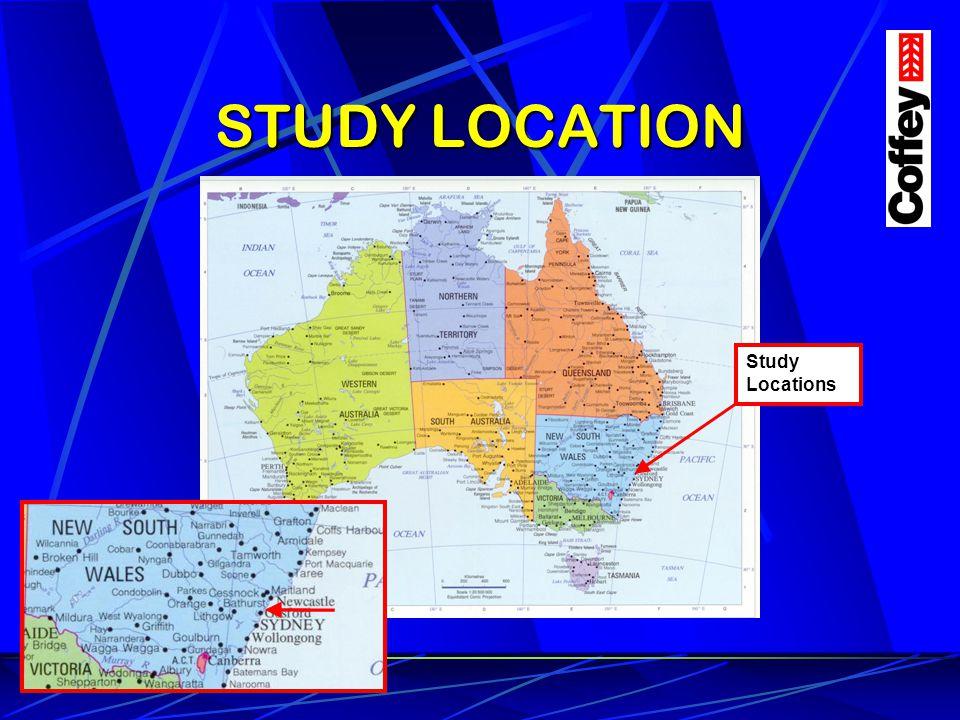 STUDY LOCATION Study Locations