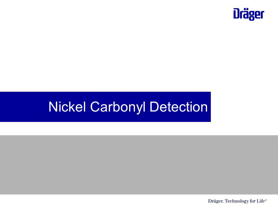 Nickel Carbonyl Detection