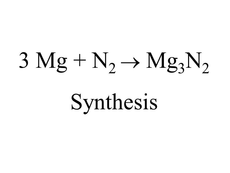 Solid dinitrogen pentoxide is added to water