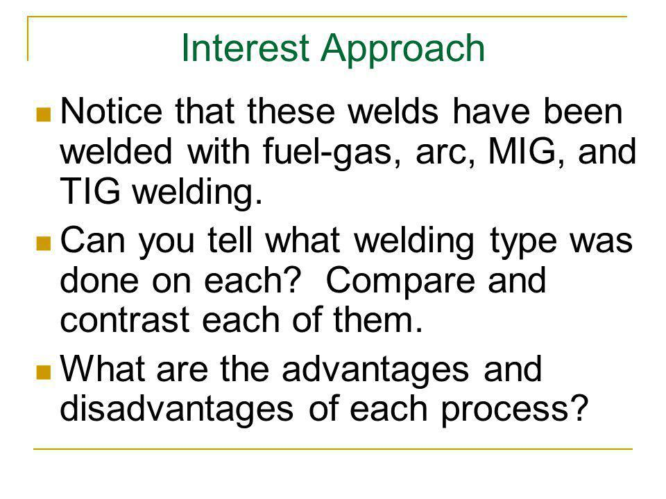 Observe the following general safety practices for working with TIG welding.