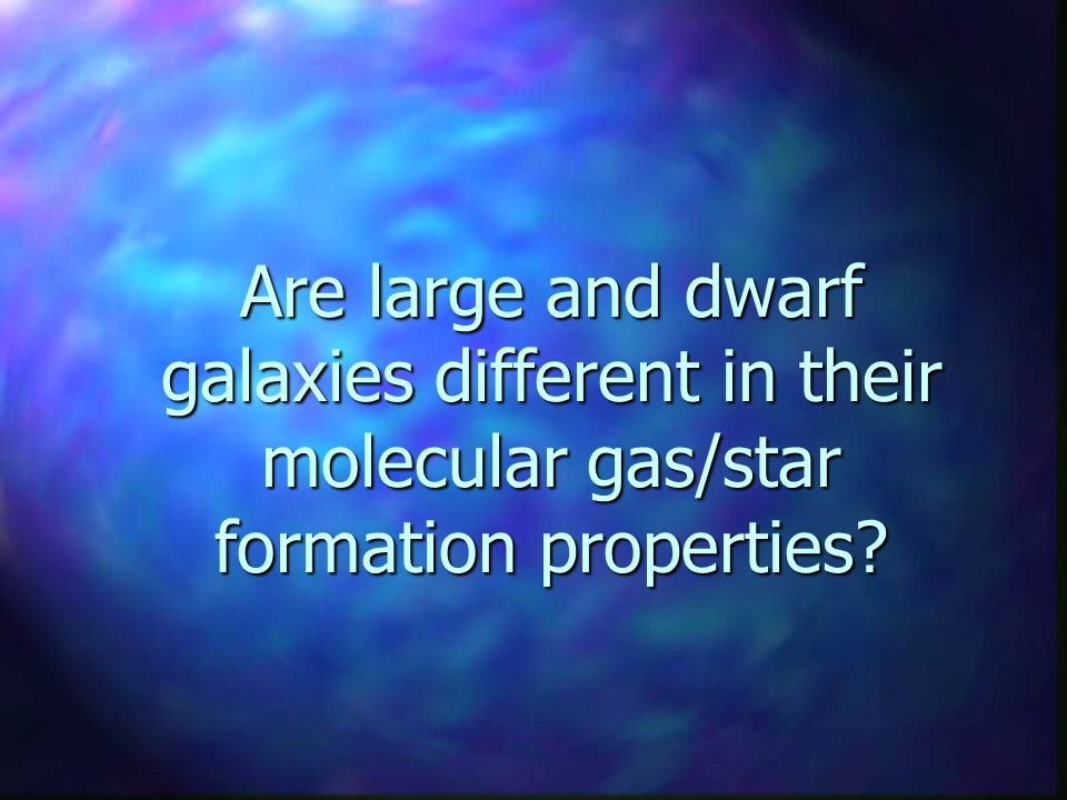 Are large and dwarf galaxies different in their molecular gas/star formation properties