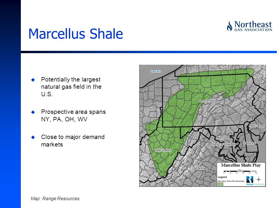 u Potentially the largest natural gas field in the U.S.