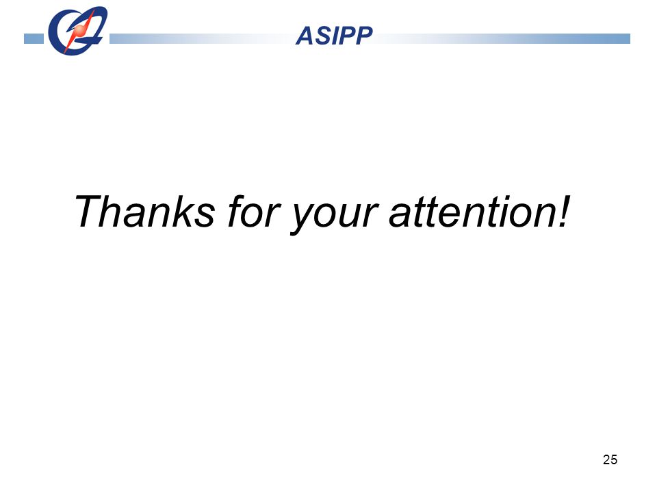 25 Thanks for your attention! ASIPP