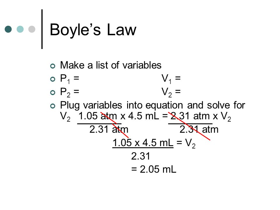Boyles Law Freddie Krueger compresses air in a syringe from 5.1 mL to 1.9 mL.