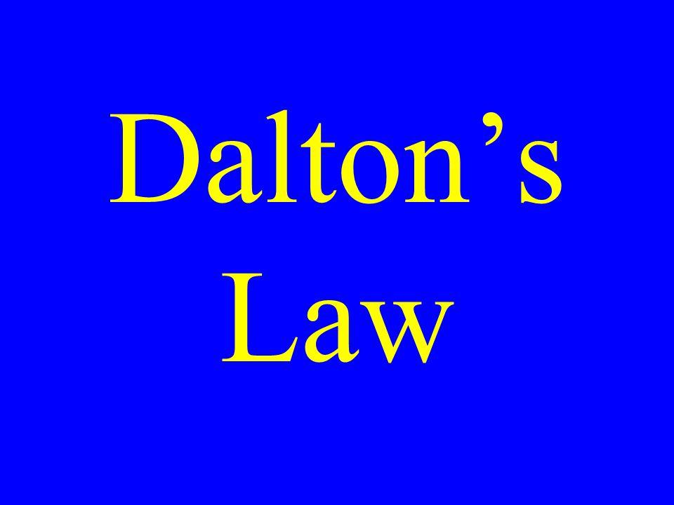 Daltons Law