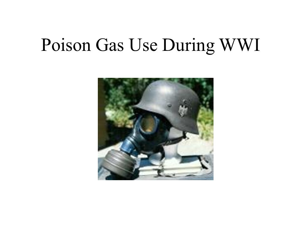 Types of Poison Gas