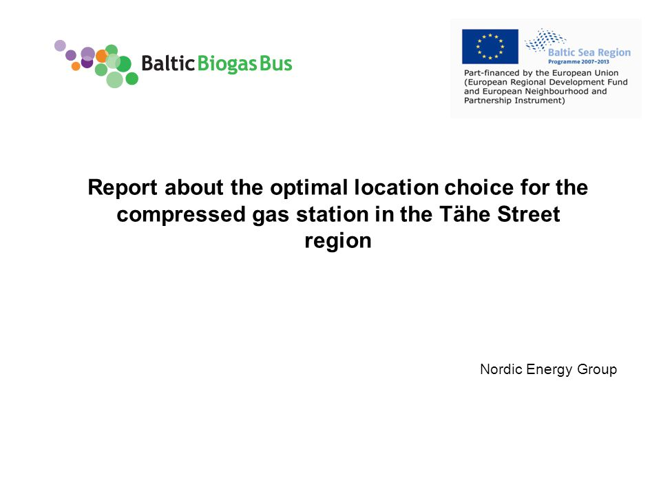 www.balticbiogasbus.eu2 Contents Introduction Purpose of the study Methods Results Summary and recommendations
