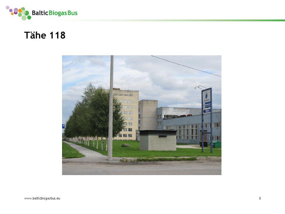 www.balticbiogasbus.eu9 Tähe 135e