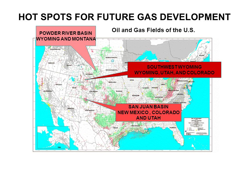 Oil and Gas Fields of the U.S.