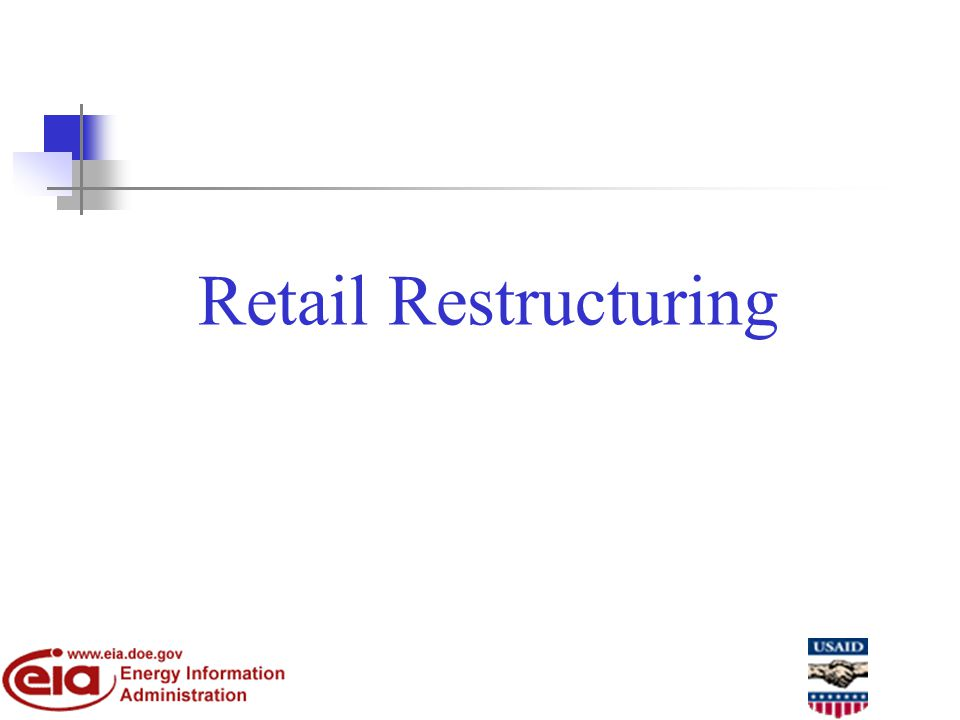 Retail Restructuring