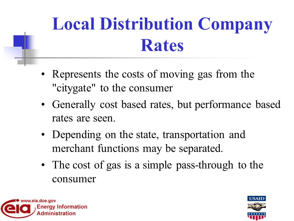 Components of the Analysis of Infrastructure Adequacy 1.Production capabilities and the ability to move supplies onto the interstate network 2.Transmission of gas along the major natural gas transportation corridors 3.Deliverability into major natural gas end- use markets