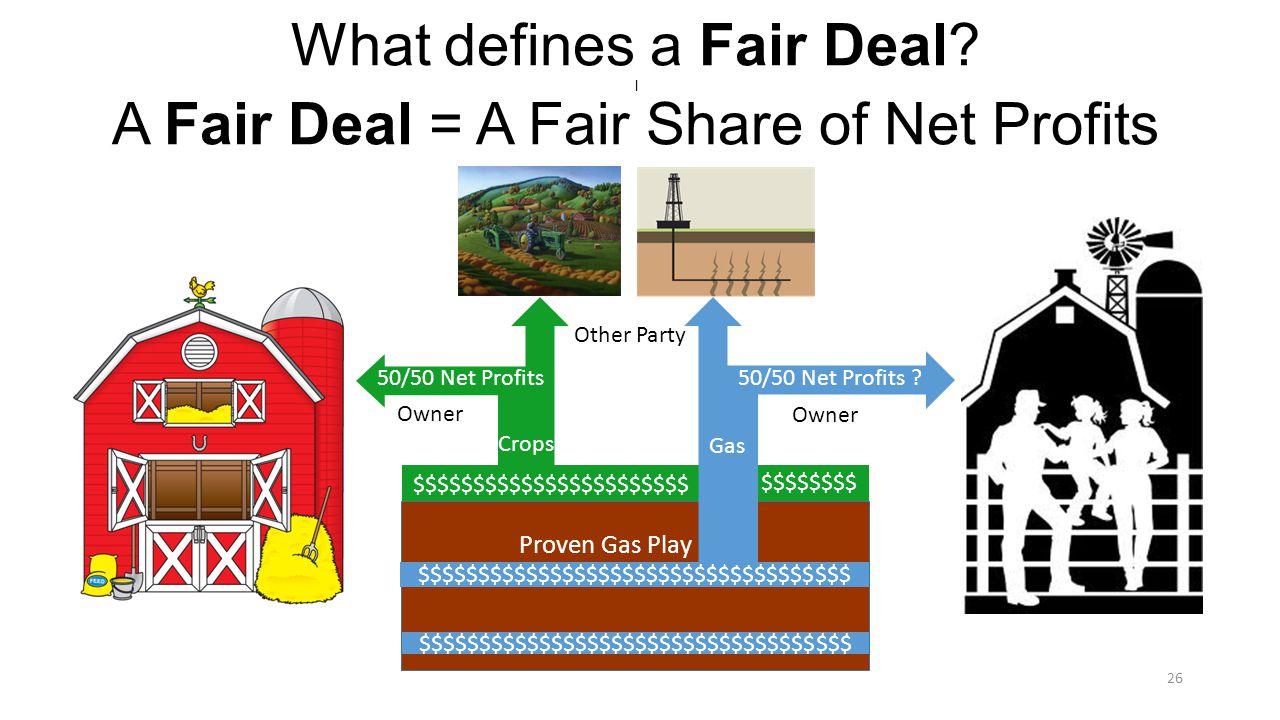 What defines a Fair Deal.