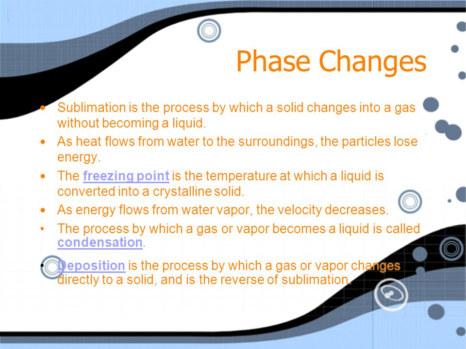 Phase Changes Evaporation vs Boiling Summary: Evaporation is the result of surface level molecules obtaining enough energy to escape the sample as a g